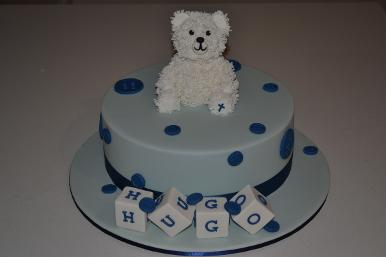 Harry's Baptism Cake